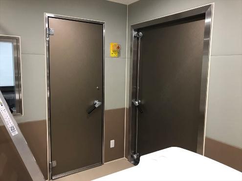 MRI室 電波シールド扉、窓