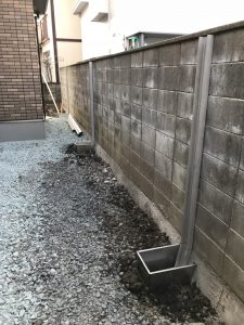 ブロック塀 補強