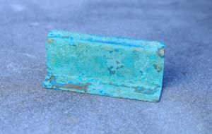 銅板 緑青