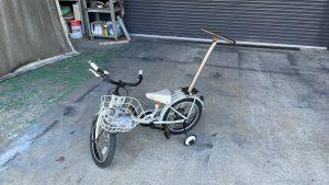 自転車の補助棒
